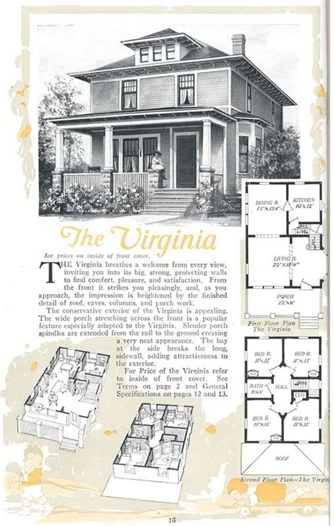 1940 aladdin kit homes the rockport old but soo cute american foursquare aladdin virginia from the 1919