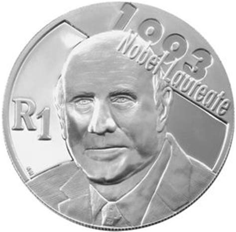 7 Nobel Prize Winners by Coin 1 Rand Nobel Peace Prize Winners 7th Pres F W