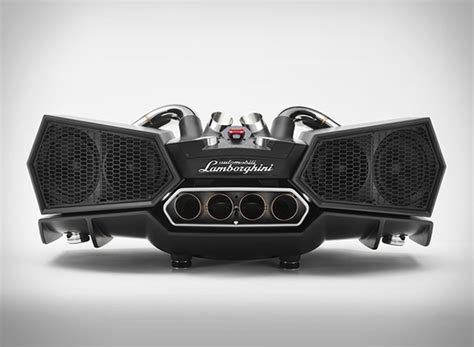 lamborghini exhaust tip lamborghini exhaust speaker