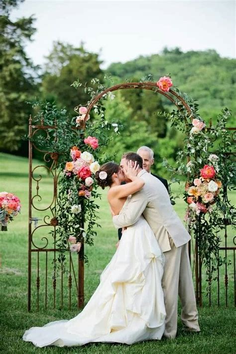 Wedding Arch Buy by Rustic Country Outdoor Wedding Arch Ideas Deer Pearl
