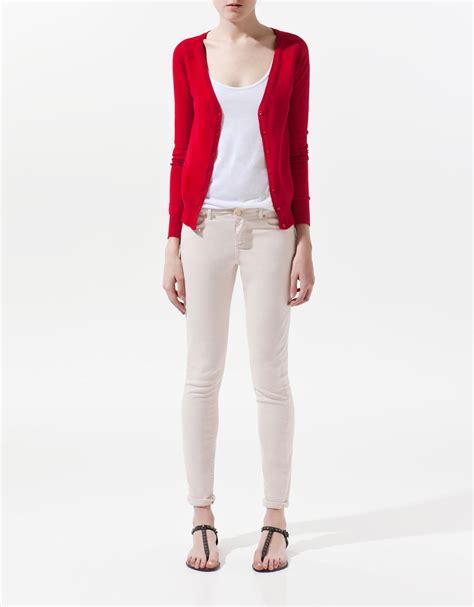 Cardigan Basic Zara Basic Cardigan In Lyst