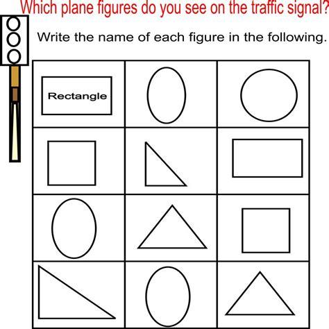 plain and worksheets plane shapes worksheets worksheets ratchasima printable