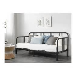 Ikea Day Bed Frame Fyresdal Day Bed Frame Black 80x200 Cm Ikea