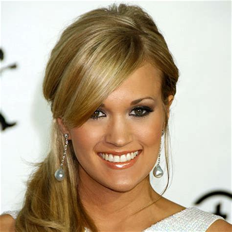 Podcast 2007 Makeuphair Trends by Carrie Underwood S Changing Looks Instyle