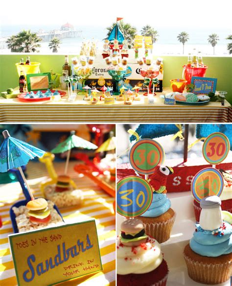 {A Pirate Looks at 30} Jimmy Buffett Themed Surprise Party // Hostess with the Mostess®