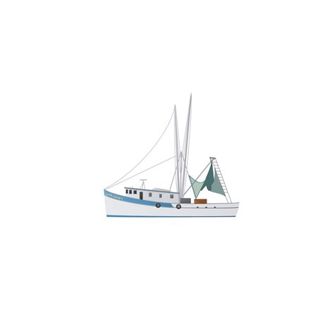 shrimp boat vector free clipart 1001freedownloads