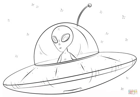 alien spaceship coloring page free printable coloring pages
