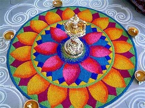 flower design rangoli pattern beautiful rangoli designs and patterns random talks