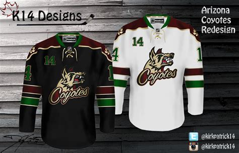 Kaos Baju Hockey Arizona Coyotes Logo Wordmark friday california florida califlorida hockeyjerseyconcepts