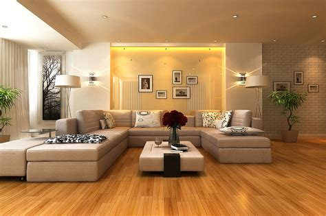 Interior Livingroom by Neutral Living Room Gloss Feature Wall Interior Design