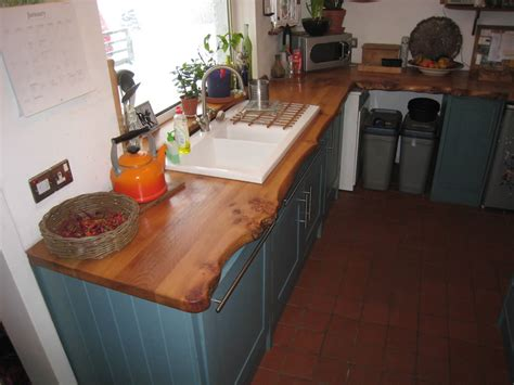 Handmade Kitchenware - corrie woodworking handmade kitchen 2 elm worksurface