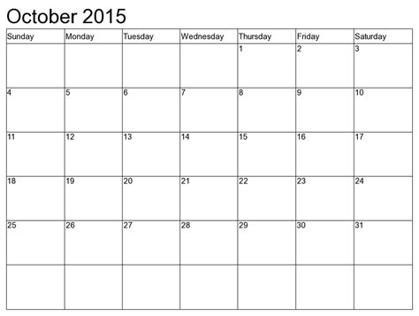 august 2015 calendar printable template 10 templates october 2015 calendar printable with holidays 2017