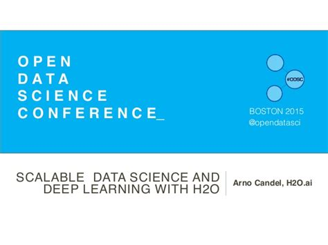 Linkedin Data Science Mba College by Arno Candel Scalabledatascienceanddeeplearningwithh2o Odsc
