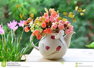 Vases For Tulips Bouquet Of Flowers Stock Photo Image 43838721