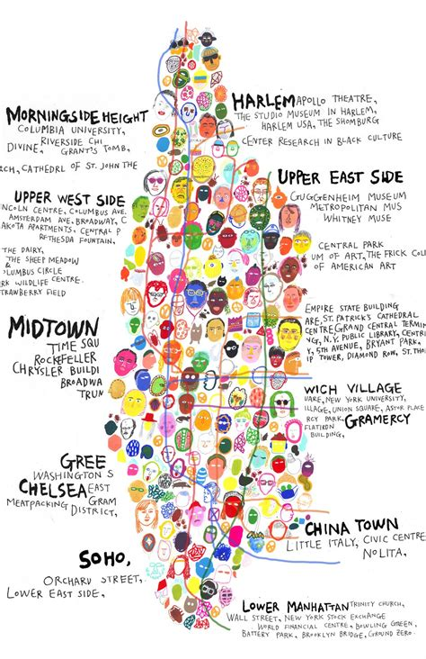 manhattan map of attractions helpful map of new york city and where to find top