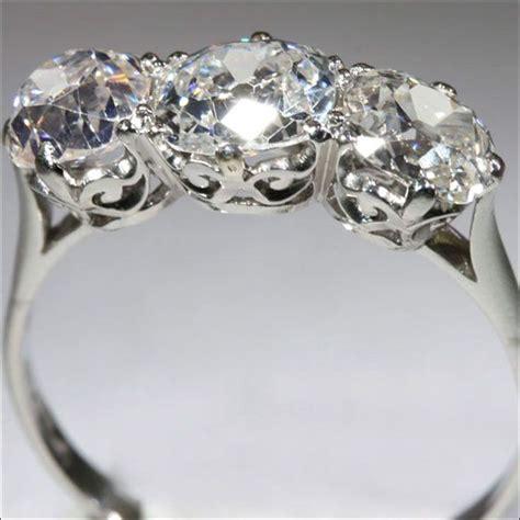 3 vintage engagement rings wedding promise