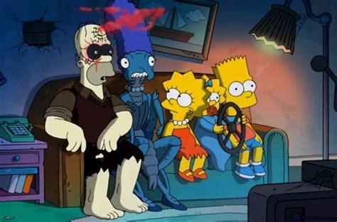 imagenes de halloween simpson cabecera del episodio de halloween 2013 de los simpson