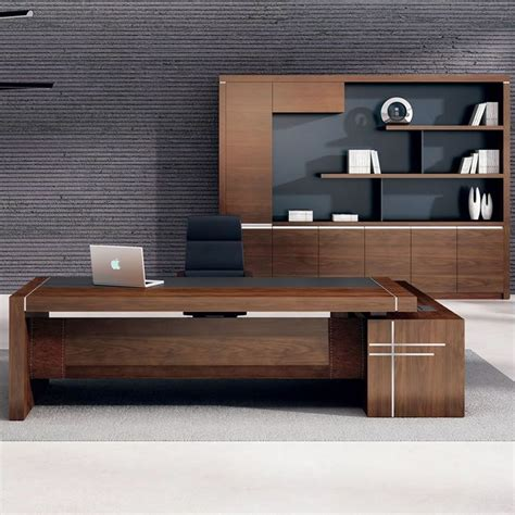 modern desk table best 25 executive office desk ideas on