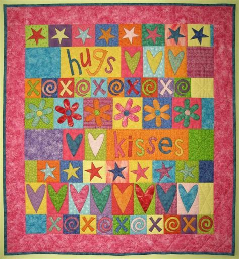 quilt pattern hugs and kisses you have to see project cupid hugs kisses quilt by