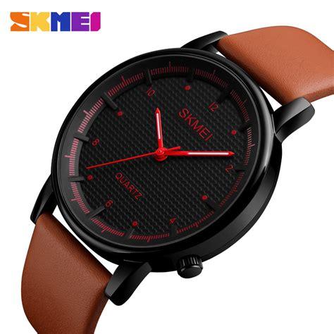 Jam Tangan Dw Brown 1 skmei jam tangan analog pria 1210 brown black jakartanotebook