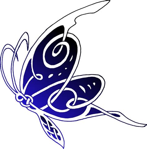 celtic butterfly tattoo butterfly tattoos and designs page 375