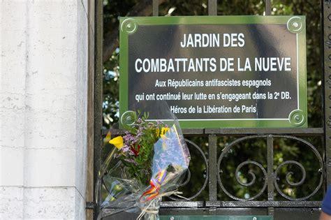 la nueve 24 aot 24 agosto liberacion de paris homenaje a la nueve 2016 espa 241 a en par 237 s