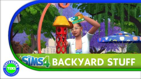 the backyard pack the sims 4 backyard stuff pack item showcase all colors gogo papa