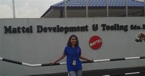 Mattel Supply Chain Intern Mba by Summer Internship At Mattel Malaysia Karishma Seth From