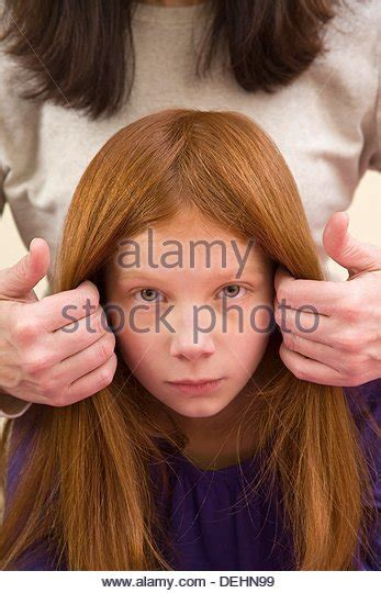 preteen red head stern woman middle age stock photos stern woman middle