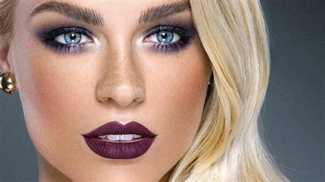 Eyeshadow Glamor fall makeup tutorial