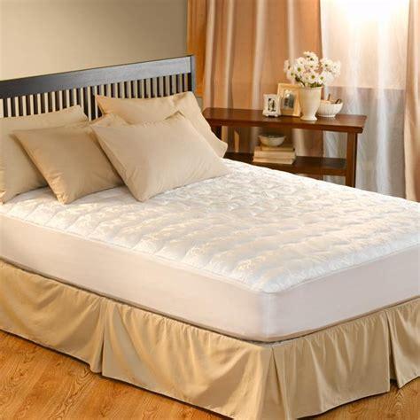 twin bed pillow top mattress pad dorm sized twin xl antimicrobial pillow top mattress pad