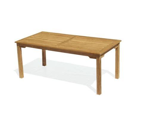 6 rectangular table sandringham teak 6ft outdoor rectangular dining table