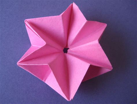 how to make a 3d 6 pointed origami