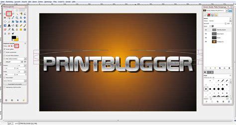 gimp visitenkarten tutorial quicktipp metall effekt in gimp 187 saxoprint blog