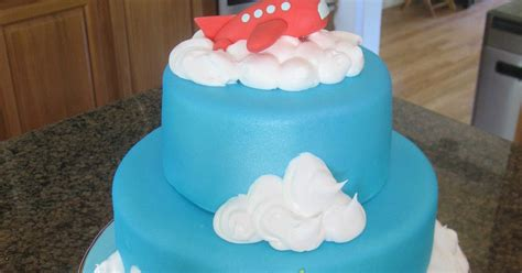 Just The Frosting: Airplane Baby Shower Cake