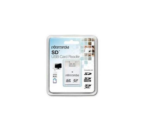 Card Reader Usb 2 0 puremedia usb 2 0 memory card reader deals pc world