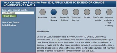 Search Uscis Status Uscis Status Update Processing Steps