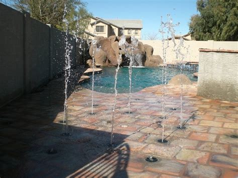 build your own backyard splash pad saw one of these installed on hgtv today splash pad in