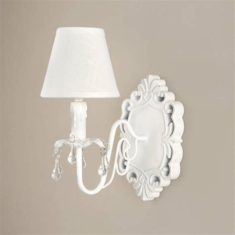 White Wall Lights White Ornate Wall Light By Dibor