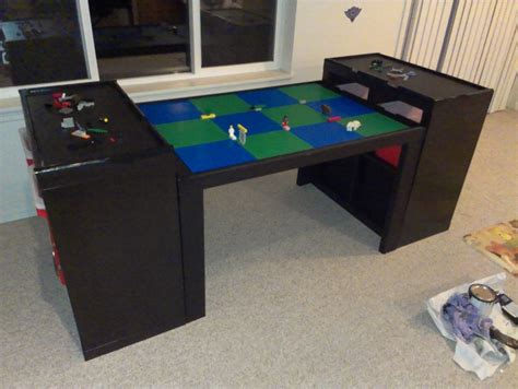 large lego workspace from ikea parts ikea hackers ikea