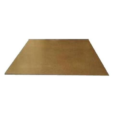 1 8 in x 4 ft x 8 ft s2s mdf tempered hardboard 127320