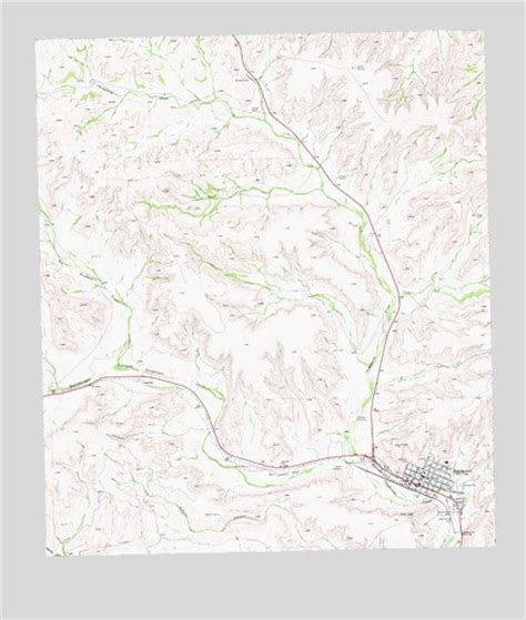 sanderson texas map sanderson tx topographic map topoquest