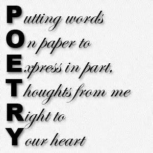 Poetry webquest process