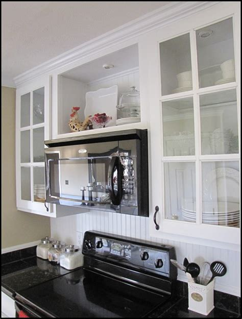 over the range microwave and open shelving kitchens kitchen cabinets design dilemma