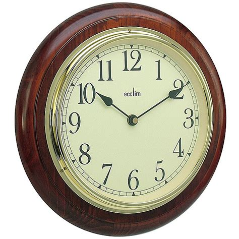 traditional wall clock acctim 24186 boston traditional wall clock 163 27 70 ray