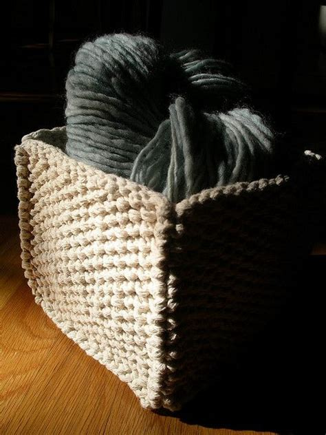 knit basket pattern knitted basket pattern knitting and a bit of crochet