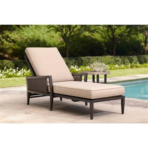 chaise patio patio chaise lounge brown jordan greystone with sparrow