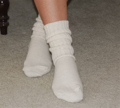 wearing tons to bed non elastaine bed socks by perilla notonthehighstreet com