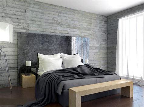 how much to plaster a bedroom 20 bold bedroom designs with concrete walls rilane