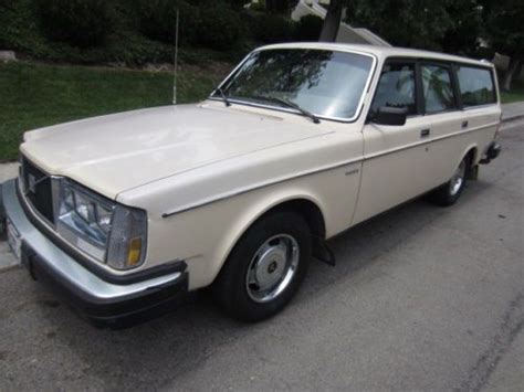 buy   volvo  stick shifting wagon  speed overdrive  tires clean original